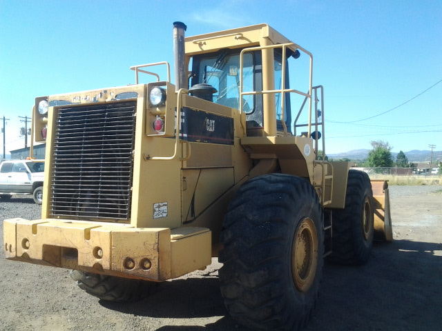 1987 Caterpillar 966D Wheel Loader Back Right