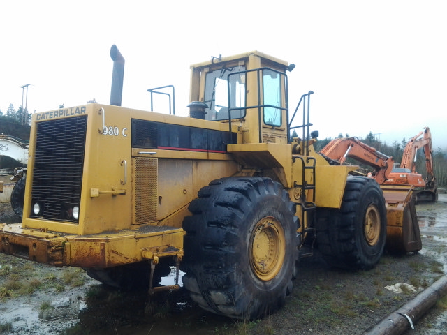 1980 Caterpillar 980C Back Right