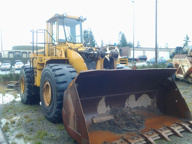 1980 Caterpillar 980C Front Right
